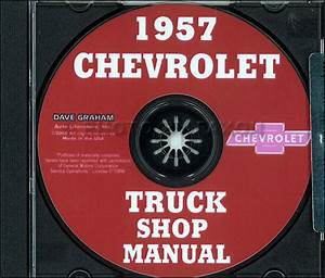 1957 Chevrolet Truck Wiring Diagram Manual Reprint