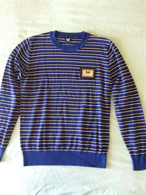 bid or bay knitwear hoodies uzzi mens jersey with metal plate