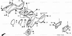 Honda Atv 2006 Oem Parts Diagram For Body    Cover
