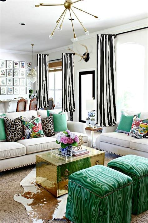 Draperies Make Summer Season Change by How To Make A Lined Curtain Panel Black And White Striped
