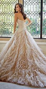 sophia tolli fall 2014 bridal collection belle the magazine With wedding dress designer