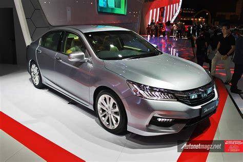 honda indonesia honda accord facelift indonesia iims 2016 photo