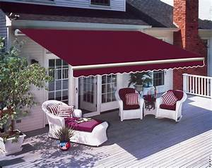 3 X 2 5m Patio Manual Awning Garden Canopy Sun Shade