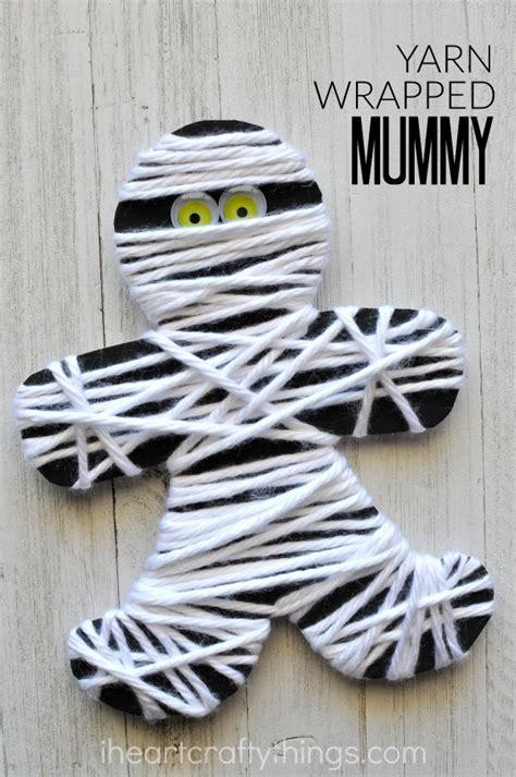 yarn activities for preschoolers yarn wrapped mummy craft i crafty things 733