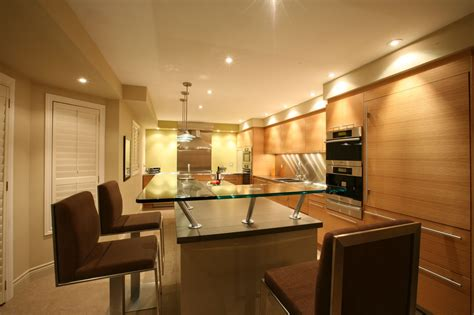 rustic kitchen design with l shape kitchen island combined