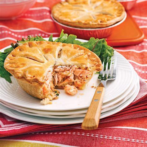 cuisine nordique recettes petits pâtés au saumon et crevettes nordiques recettes