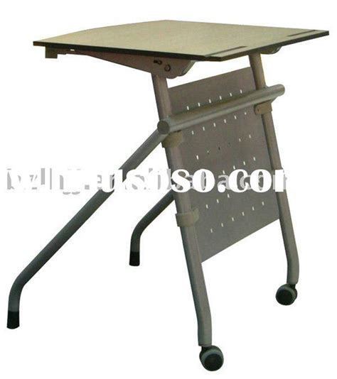 used plastic folding school desk and chair for sale
