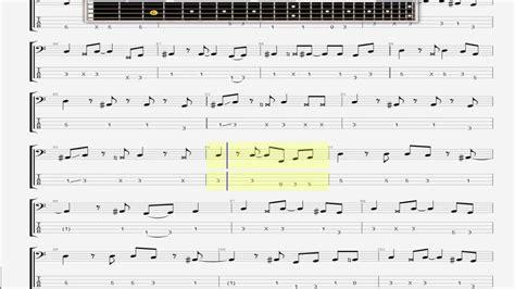 Dire Straits Bass Guitar Tab Lesson