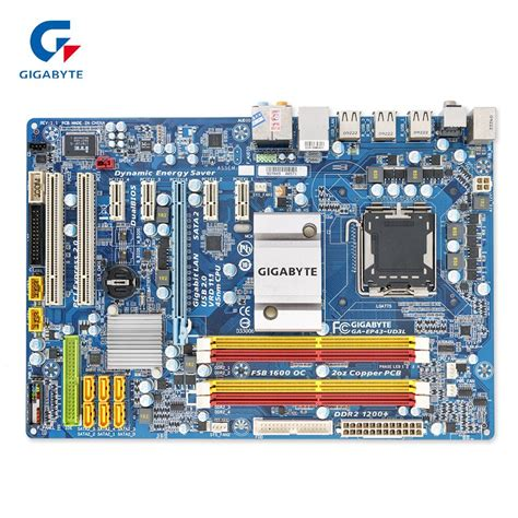 Gigabyte GA-EP43-UD3L Original Used Desktop Motherboard ...