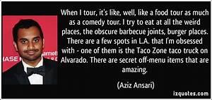 Quotes by Aziz Ansari @ Like Success