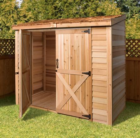 yard storage sheds    shed diy lean  style plans