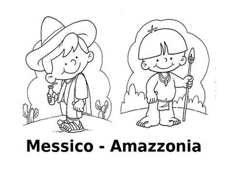 disegni bambini mondo da colorare disegni da colorare i bambini mondo messico amazzonia