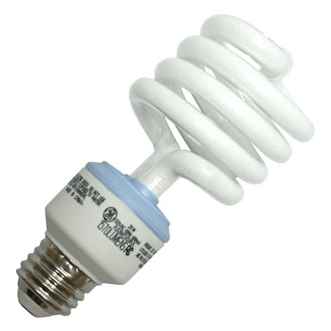 ge fluorescent light bulbs ge 75408 fle26ht3 2 rvl twist medium base compact