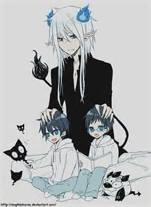Rin and Yukio Blue Exorcist Satan