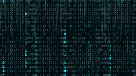 Binary Code Wallpaper Animated - binary computer code background motion graphic animation