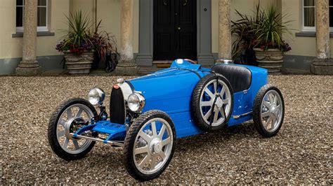 The new bugatti baby ii is somewhat larger. Bugatti Baby II, une voiture pour enfants au prix d'une pour adulte
