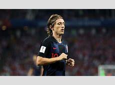 Luka Modric Mejor Jugador del Rusia Croacia de Cuartos