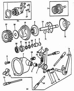 Governor Parts For Ford 8n Tractors  1947