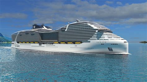 MSC Confirms Order For 4 World Class Cruise Ships That ...