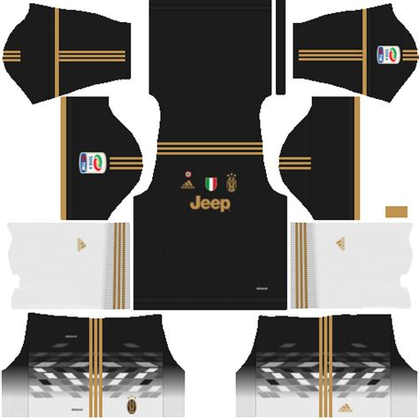 Juventus Kits 512x512 Dream League Soccer 2017/18