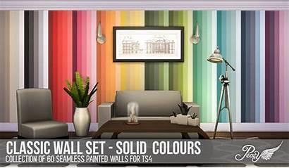 Sims Walls Classic Ts4 Solid Cc Colors