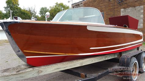 ft century resorter classic wooden boats  sale