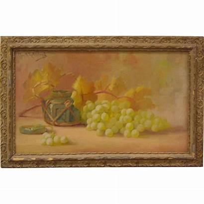 Still Painting Oil California Artist Rubylane Canvas