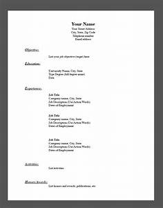 sample fill in the blank resume pdf free resume sample With fillable resume pdf