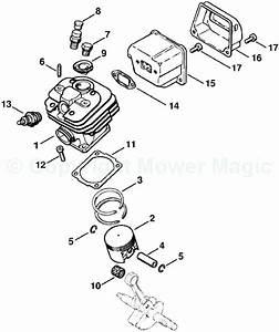 35 Stihl 026 Chainsaw Parts Diagram