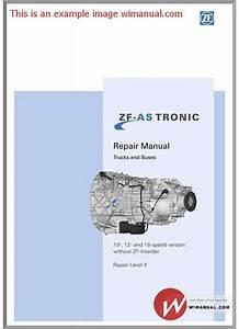 Zf As Tronic Trucks 1327 751 102b 2007 Repair Manual