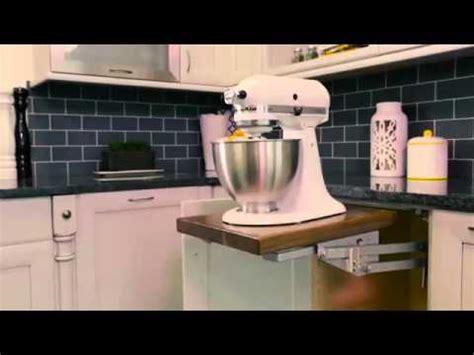 rev  shelf soft close mixer lift promo youtube
