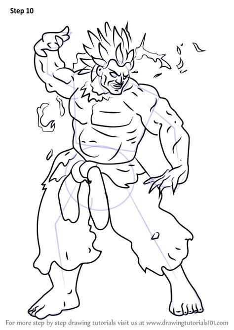learn   draw oni  street fighter street fighter