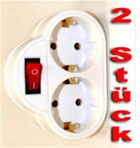 Historische Schalter Steckdosen : 2 x doppel steckdose m schalter steckdosen adapter ~ Markanthonyermac.com Haus und Dekorationen