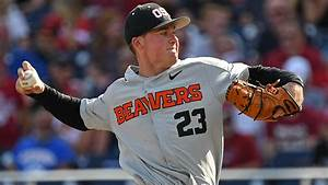 College World Series 2018: Oregon State's Kevin Abel ...