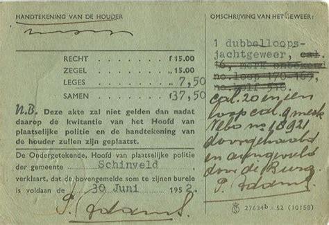 Jachtvergunning Nederland by T Riekske