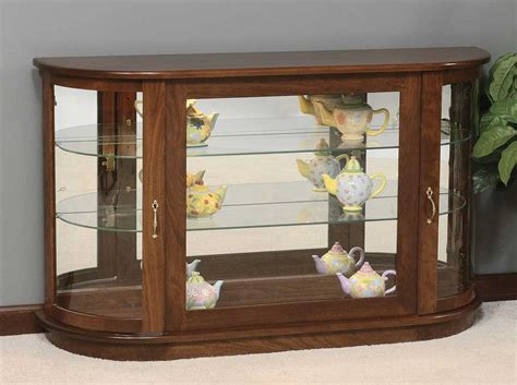 white curio cabinet furniture nature living room with vintage wooden small corner curio