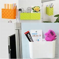 Fridge Magnet Storage Box Organizer Rack Shelf Magnetic