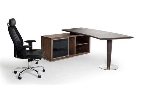 spotlight ebony 58 desk modrest lincoln modern office desk and side storage cabinet