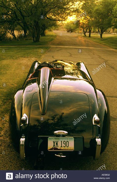 jaguar xk  roadster vintage race car   sold