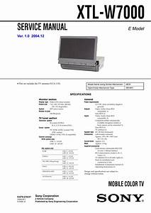 Service Manual Mobile Color Tv