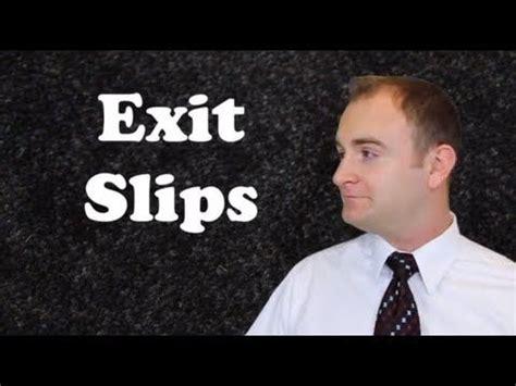 Video #6 Exit Slips - TeachLikeThis | Exit slips, Teacher evaluation, Teaching strategies
