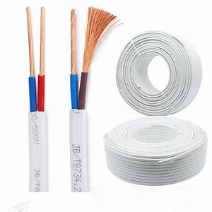 5m Electrical Wire Copper Rvvb Sheathed Wire And Cable