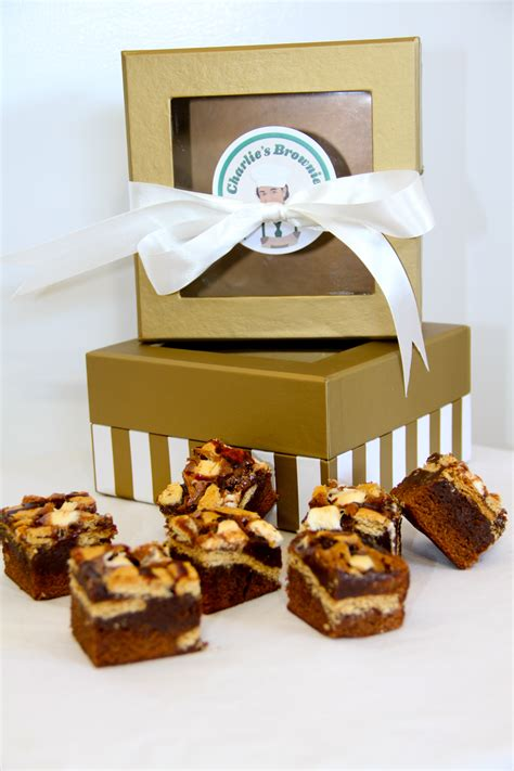 charlie s brownies holiday gift boxes charlie s brownies