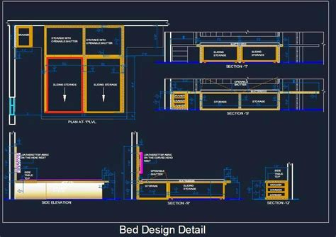 house plan drawing software free bed detail with sliding storage plan n design