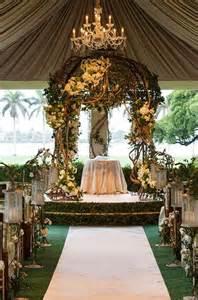 wedding altar decorations ideas wedding altar 2368675 weddbook