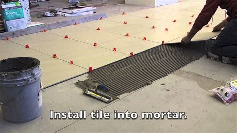 floor tile leveling spacers how to install tile floor with leveling system