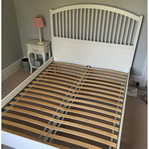 ikea tyssedal bed frame assembly flat pack