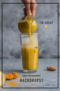 Cheap Food Photography Backdrops? DIY + Save Space! - Healthy Laura