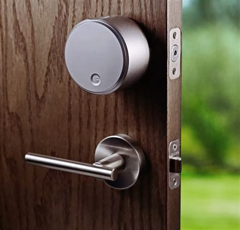 august door lock august smart lock keyless home entry with your