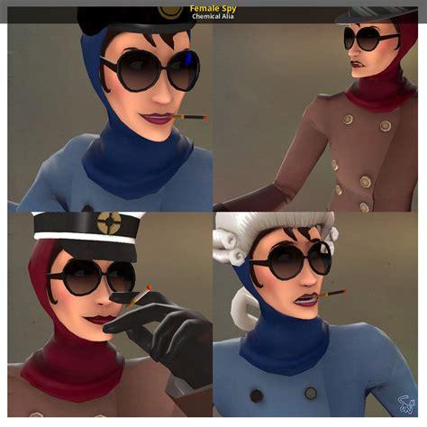 female spy team fortress  skin mods